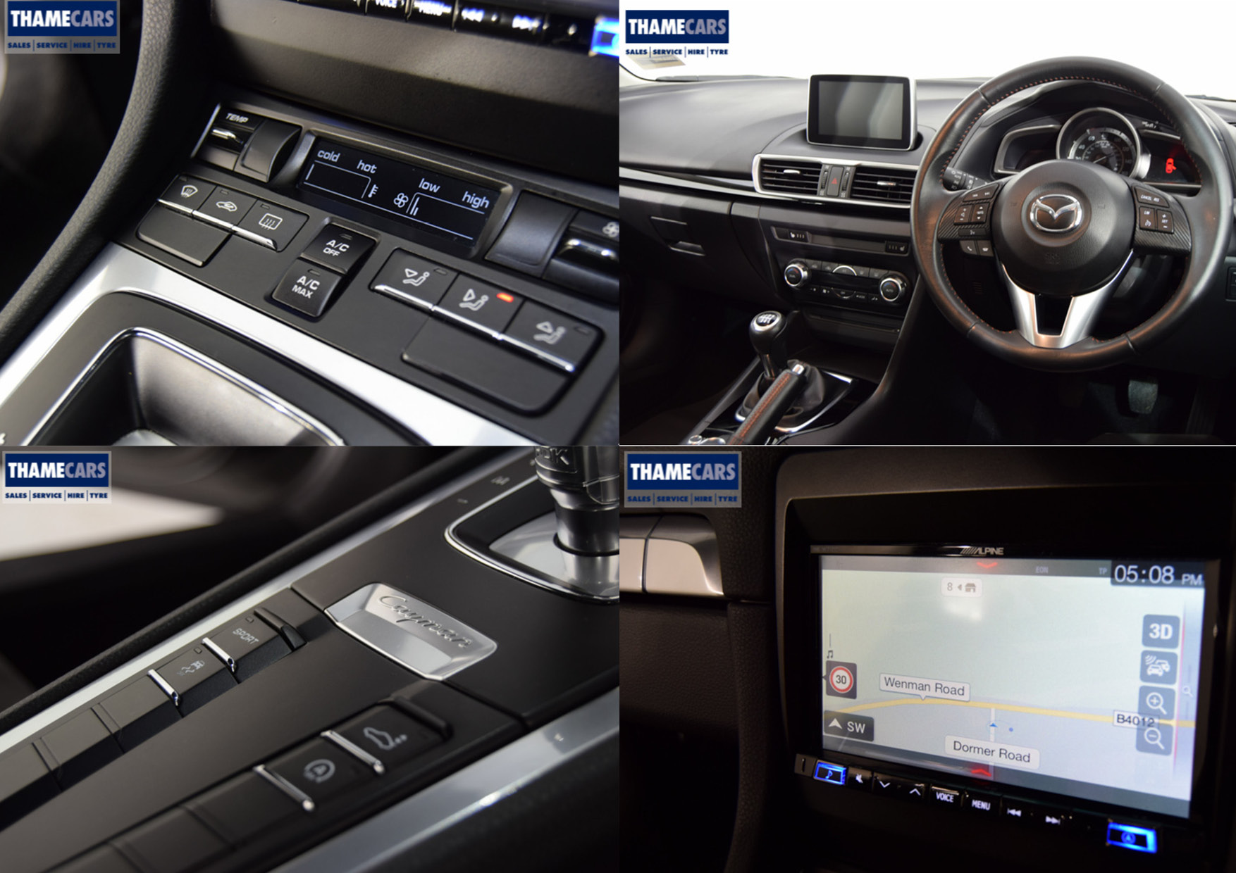 In-Car Features